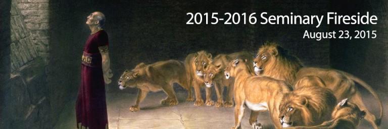 2015-2016 Seminary Fireside