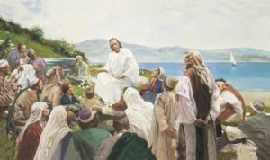 Christ Teaching the People